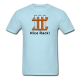 """Nice Rack"" - Men's T-Shirt powder blue / S - LabRatGifts - 12"