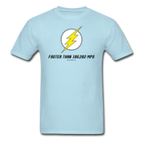 """Faster Than 186,282 MPS"" - Men's T-Shirt powder blue / S - LabRatGifts - 13"