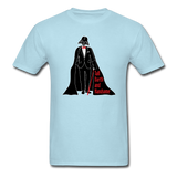 """Tall Darth and Handsome"" - Men's T-Shirt powder blue / S - LabRatGifts - 5"