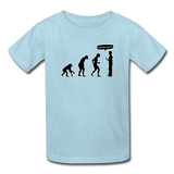 """Stop Following Me"" - Kids' T-Shirt powder blue / XS - LabRatGifts - 7"