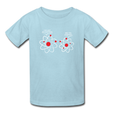 """I've Lost an Electron"" - Kids' T-Shirt powder blue / XS - LabRatGifts - 4"