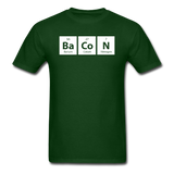 """BaCoN"" - Men's T-Shirt forest green / S - LabRatGifts - 4"