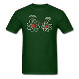 """I've Lost an Electron"" - Men's T-Shirt forest green / S - LabRatGifts - 2"