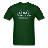 """Walter White Laboratories"" - Men's T-Shirt forest green / S - LabRatGifts - 4"