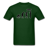 """Stop Following Me"" - Men's T-Shirt forest green / S - LabRatGifts - 2"