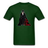 """Tall Darth and Handsome"" - Men's T-Shirt forest green / S - LabRatGifts - 13"