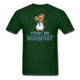 """Trust Me I'm a Scientist"" - Men's T-Shirt forest green / S - LabRatGifts - 15"