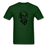 """Albert Einstein"" - Men's T-Shirt forest green / S - LabRatGifts - 15"