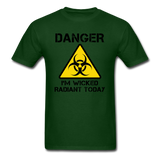 """Danger I'm Wicked Radiant Today"" - Men's T-Shirt forest green / S - LabRatGifts - 14"