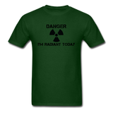 """Danger I'm Radiant Today"" - Men's T-Shirt forest green / S - LabRatGifts - 14"
