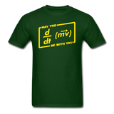 """May the Force Be With You"" - Men's T-Shirt forest green / S - LabRatGifts - 3"