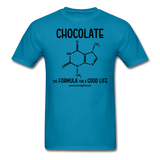 """Chocolate"" - Men's T-Shirt turquoise / S - LabRatGifts - 6"