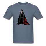 """Tall Darth and Handsome"" - Men's T-Shirt denim / S - LabRatGifts - 2"