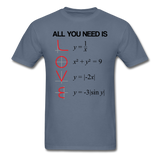 """All You Need is Love"" - Men's T-Shirt denim / S - LabRatGifts - 5"