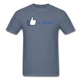 """Like a boss"" - Men's T-Shirt"