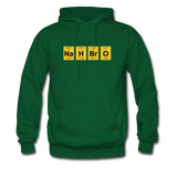 """NaH BrO"" - Men's Sweatshirt forest green / S - LabRatGifts - 6"