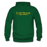 """Bazinga!"" - Men's Sweatshirt forest green / S - LabRatGifts - 5"