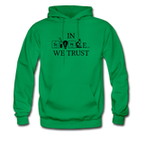 """In Science We Trust"" (black) - Men's Sweatshirt kelly green / S - LabRatGifts - 7"