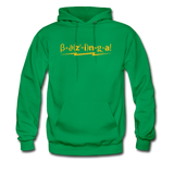 """Bazinga!"" - Men's Sweatshirt kelly green / S - LabRatGifts - 2"