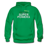 """Forget Lab Safety"" - Men's Sweatshirt kelly green / S - LabRatGifts - 2"