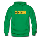 """NaH BrO"" - Men's Sweatshirt kelly green / S - LabRatGifts - 2"