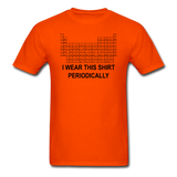 """I Wear this Shirt Periodically"" (black) - Men's T-Shirt orange / S - LabRatGifts - 11"