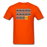 """Na Na Na Batmanium"" - Men's T-Shirt orange / S - LabRatGifts - 11"