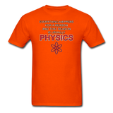 """Everything Happens for a Reason"" - Men's T-Shirt orange / S - LabRatGifts - 7"