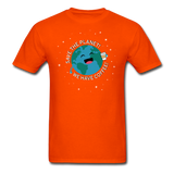 """Save the Planet"" - Men's T-Shirt orange / S - LabRatGifts - 11"