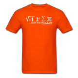 """I Ate Some Pie"" (white) - Men's T-Shirt orange / S - LabRatGifts - 10"