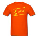 """May the Force Be With You"" - Men's T-Shirt orange / S - LabRatGifts - 11"