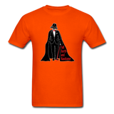 """Tall Darth and Handsome"" - Men's T-Shirt orange / S - LabRatGifts - 9"