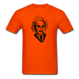 """Albert Einstein"" - Men's T-Shirt orange / S - LabRatGifts - 3"