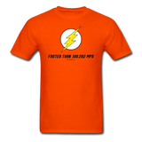 """Faster Than 186,282 MPS"" - Men's T-Shirt orange / S - LabRatGifts - 3"