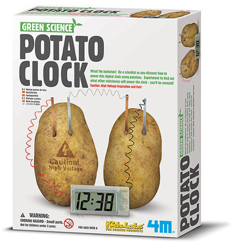 """Potato Clock"" - Science Kit  - LabRatGifts - 1"