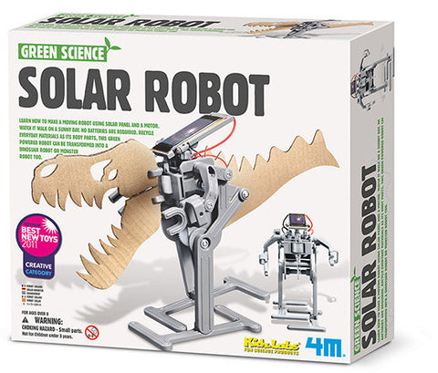 """Solar Robot"" - Science Kit  - LabRatGifts - 1"