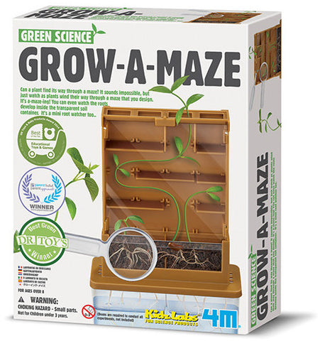 """Grow-A-Maze"" - Science Kit  - LabRatGifts - 1"