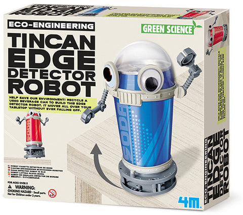 """Tin Can Edge Detector"" - Science Kit  - LabRatGifts - 1"