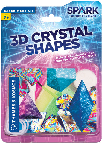 """3D Crystal Shapes"" - Experiment Kit  - LabRatGifts - 1"