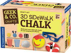 """3D Sidewalk Chalk"" - Craft Kit  - LabRatGifts - 1"