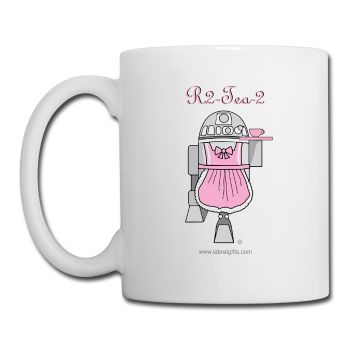 """R2-Tea-2"" - Mug white / One size - LabRatGifts"