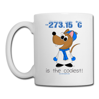 """-273.15 °C is the coolest"" - Mug white / One size - LabRatGifts"