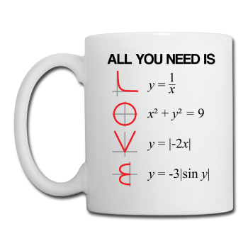 """All You Need is Love"" - Mug white / One size - LabRatGifts"