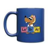 """Lab Rat Periodic Table"" (blonde) - Mug royal blue / One size - LabRatGifts - 2"