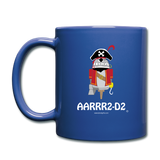 """AARRR2-D2"" - Mug royal blue / One size - LabRatGifts - 2"
