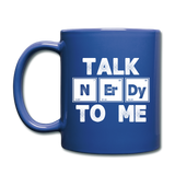 """Talk NErDy to Me"" - Mug royal blue / One size - LabRatGifts - 2"