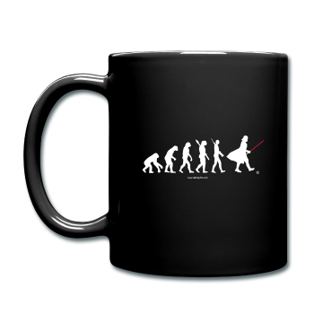 """Star Wars Evolution"" - Mug black / One size - LabRatGifts - 1"