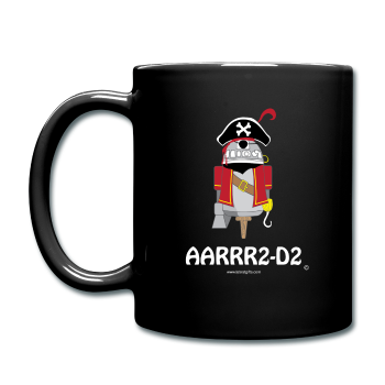 """AARRR2-D2"" - Mug black / One size - LabRatGifts - 1"
