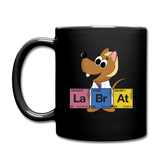 """Lab Rat Periodic Table"" (blonde) - Mug black / One size - LabRatGifts - 3"