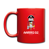 """AARRR2-D2"" - Mug red / One size - LabRatGifts - 3"